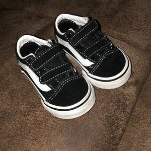 toddler 3C vans, EUC